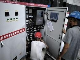 众利联合   西安建工双电源控制柜、消防巡检柜使用案例