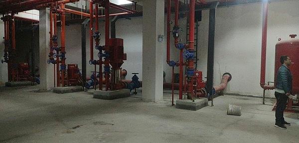 轩苑盛世消防泵及消防控制柜案例
