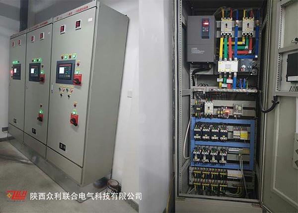 双电源+泵控柜+机械应急启动柜