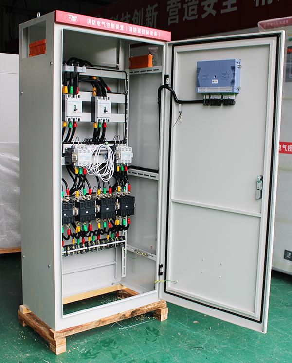 自带双电源星三角启动消防泵控制柜
